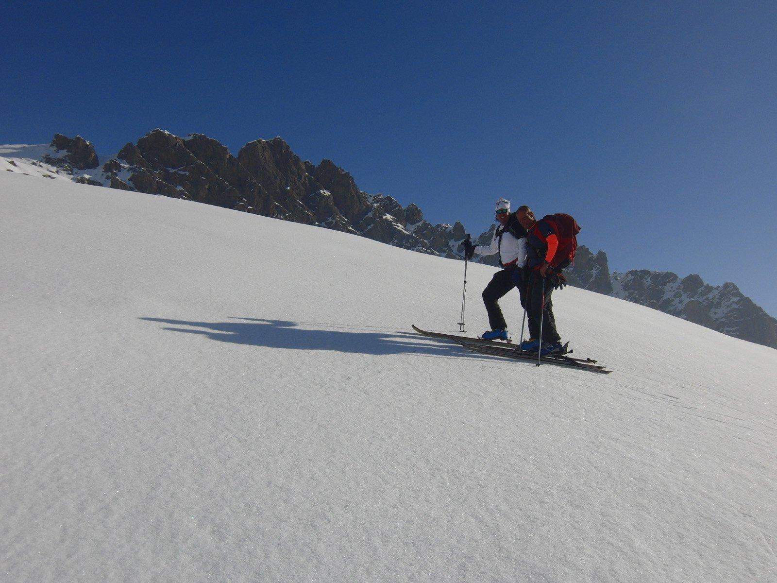 Bella neve con il Moross