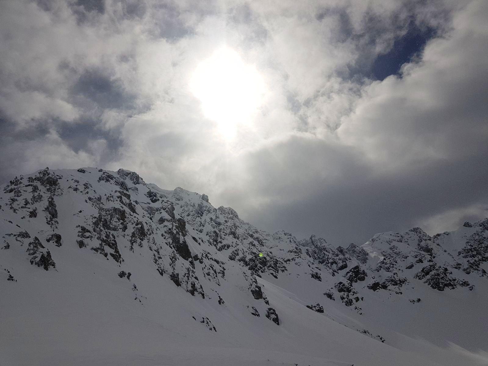 nuvole e sole(poco)
