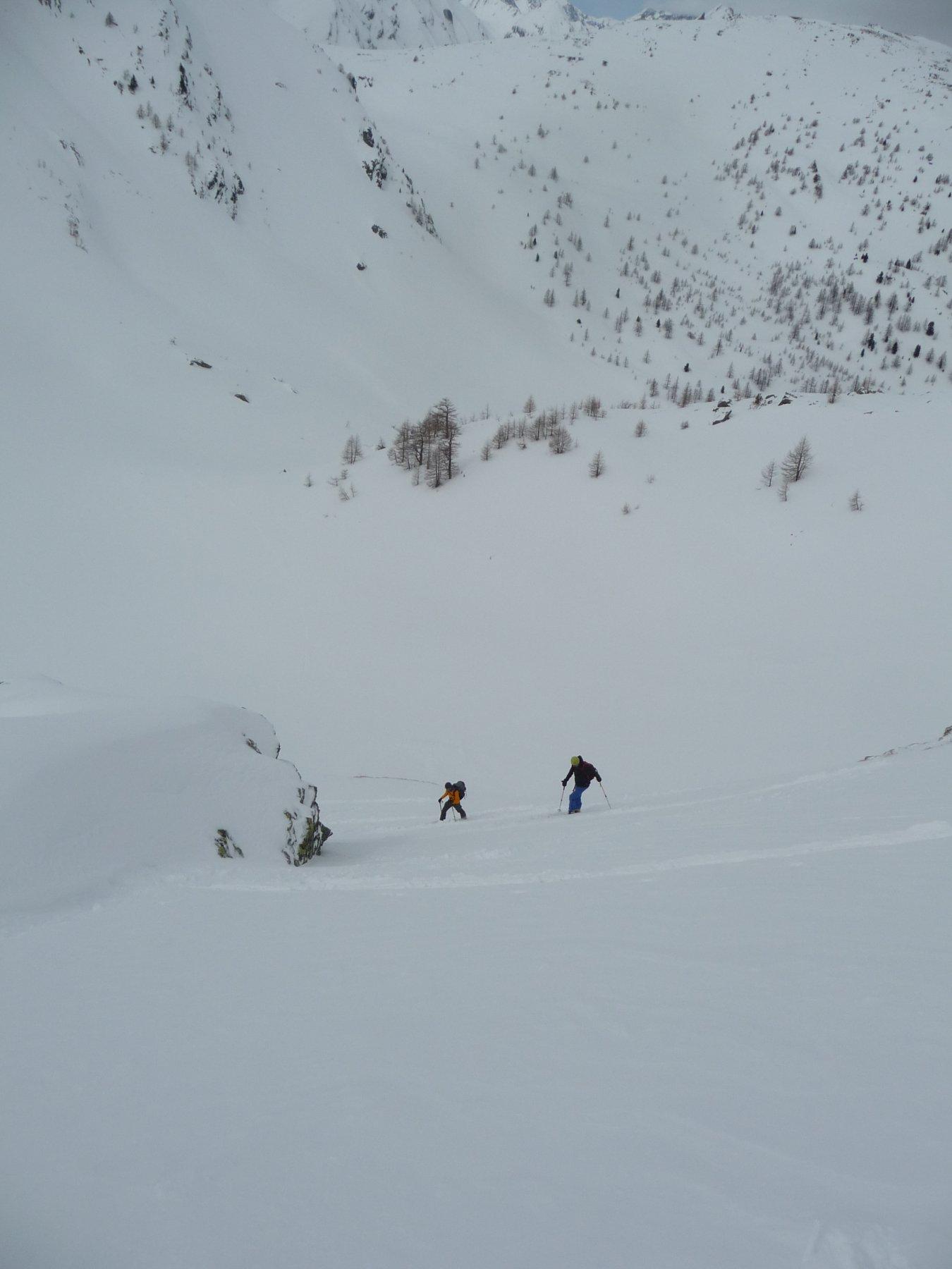 Salendo verso il mont Colmet