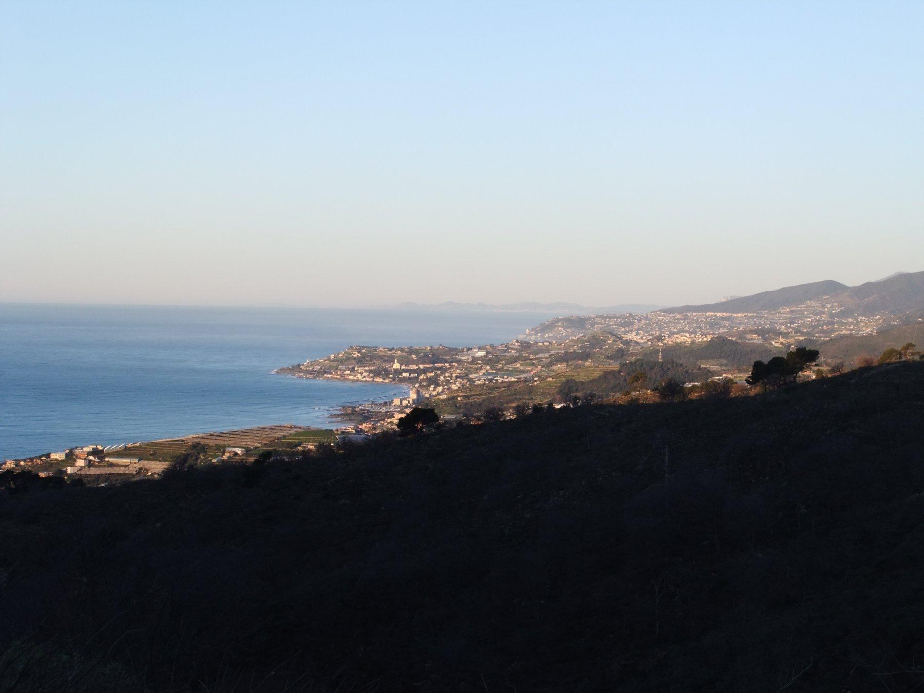 Panorama a ponente dal Monte della Costa