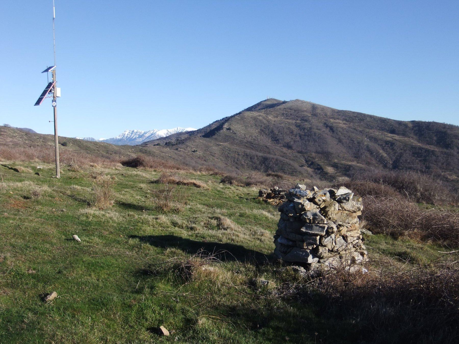 In cima  al Monte Croce