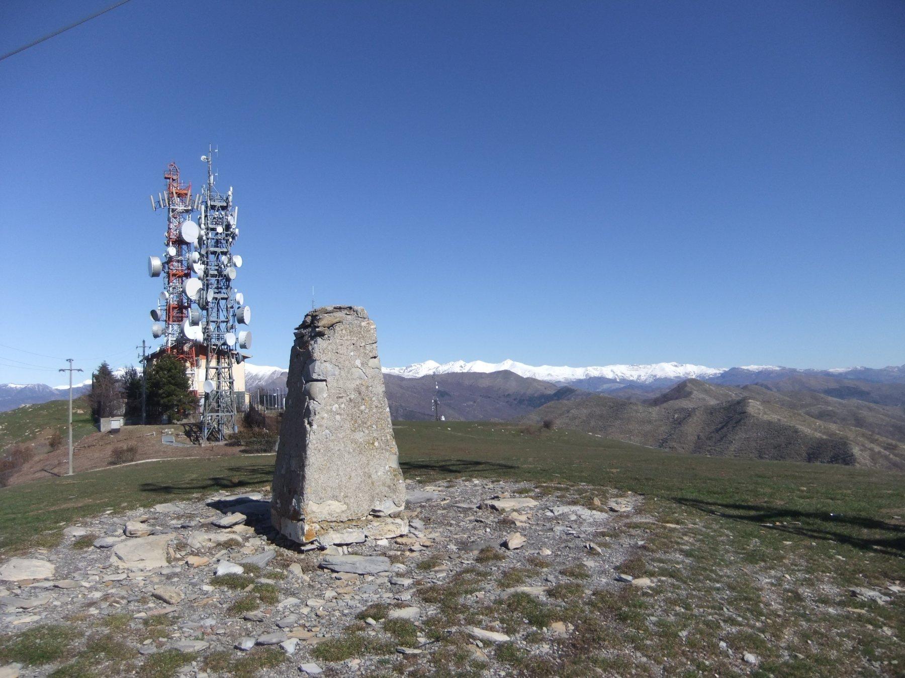 In cima al Monte Faudo