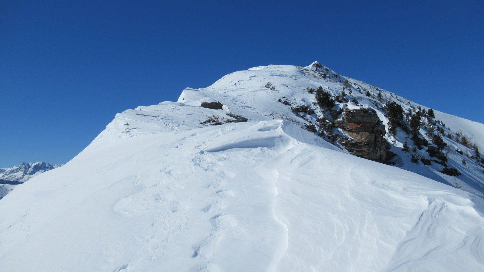 Parte della cresta tra Cugulet e Lubin