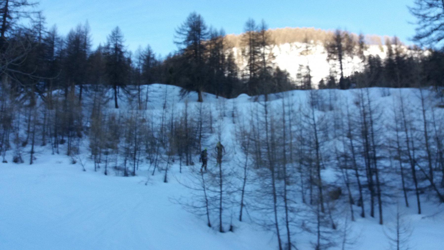 Primo sole nella valle di Thures