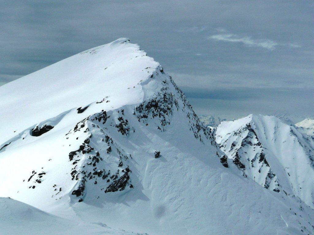 Monte Perrin intonso... e tale lo lascio, la salita alla Gran Cima mi ha già impegnato abbastanza...