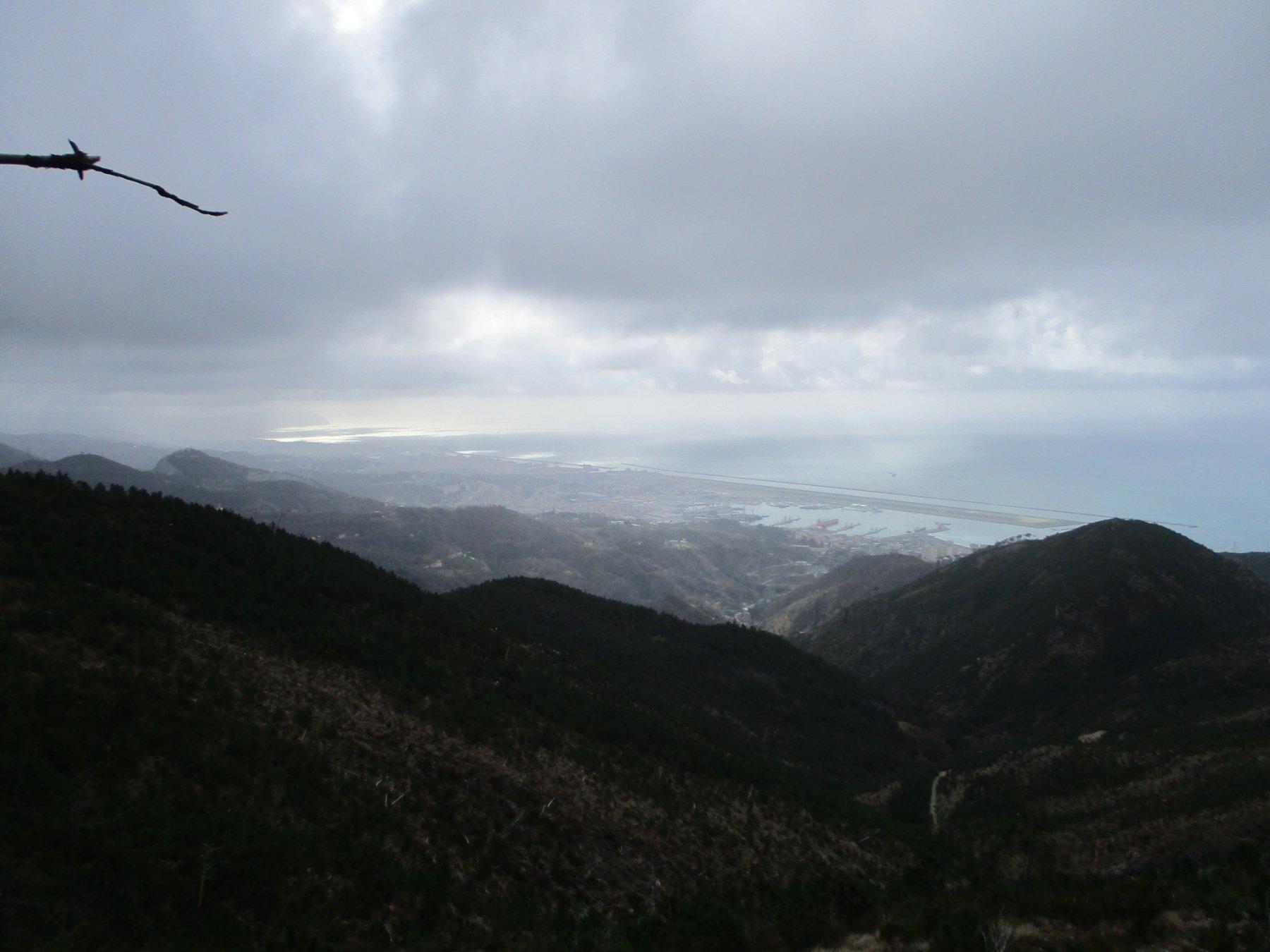 Vista verso Genova