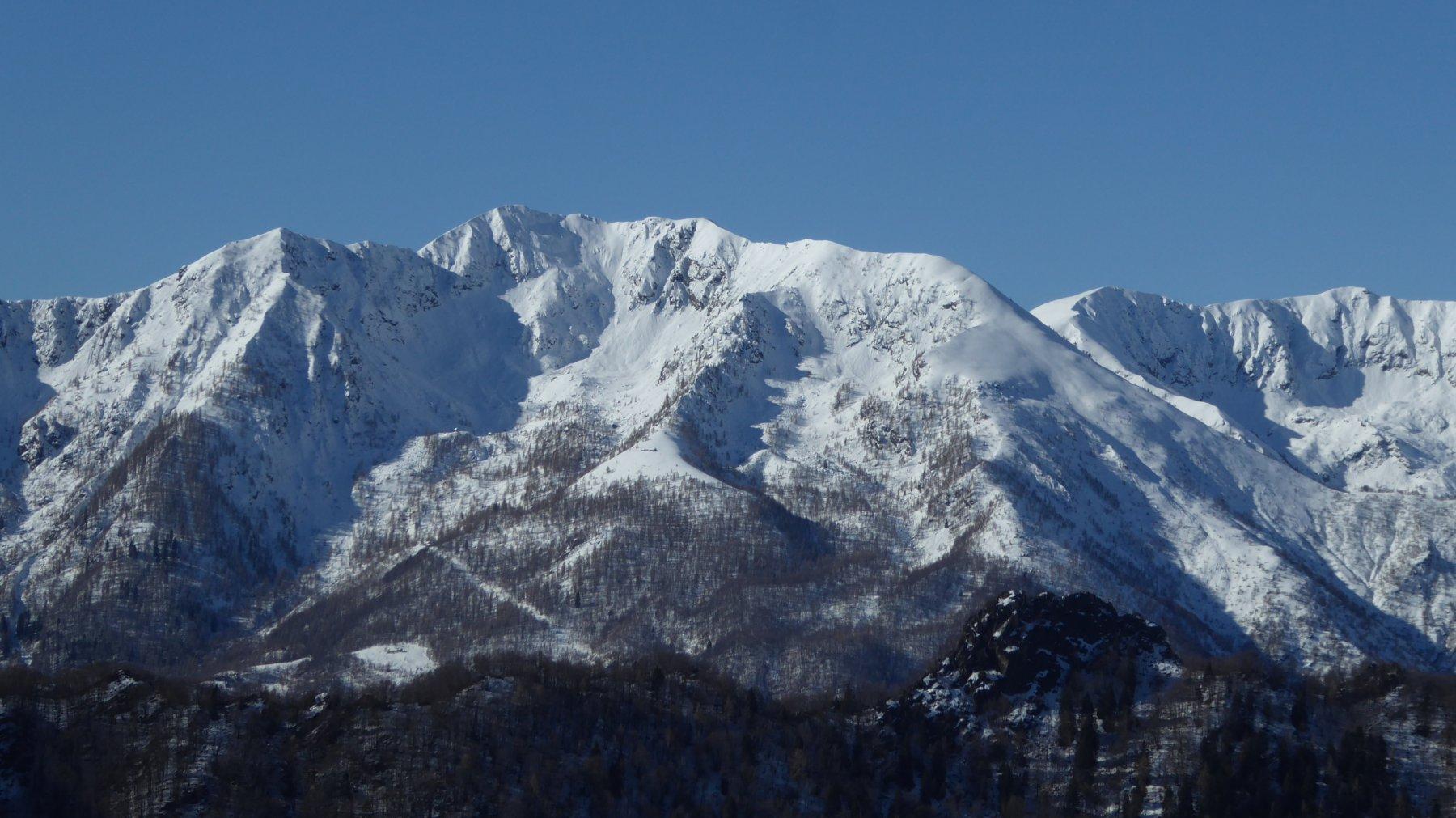 Zoom su Punta at Paloc, Uja di Corio e Monte Cimeron