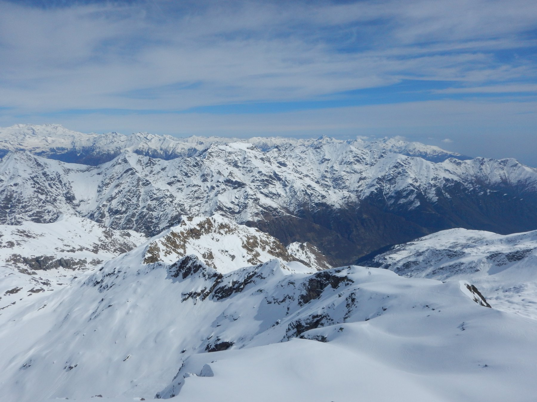 Monte Rosa e Vallone di salita