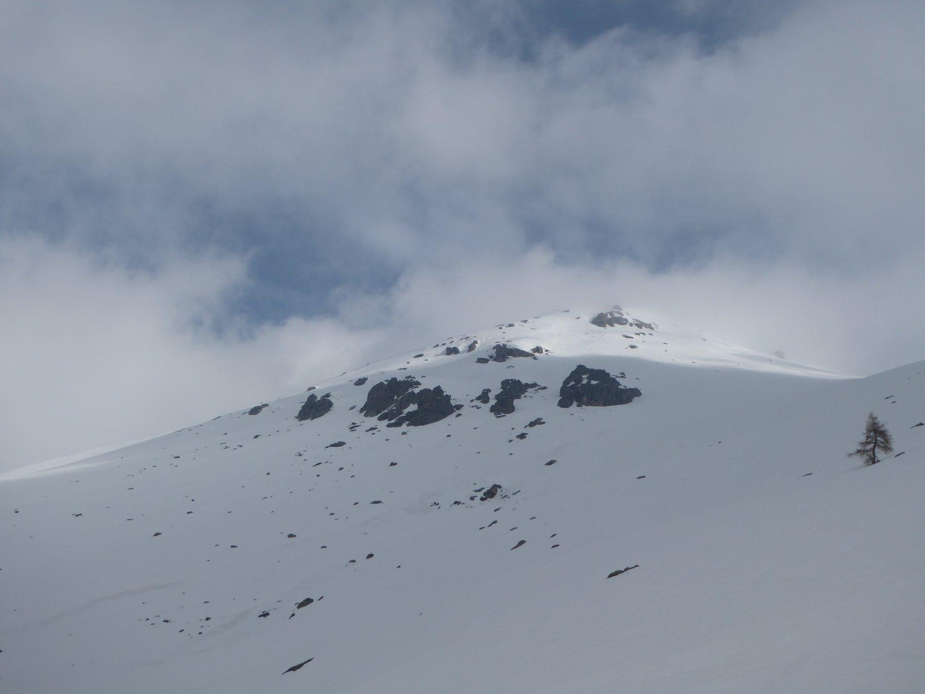 a 2000 metri illusione di una schiarita, che non ci sarà...