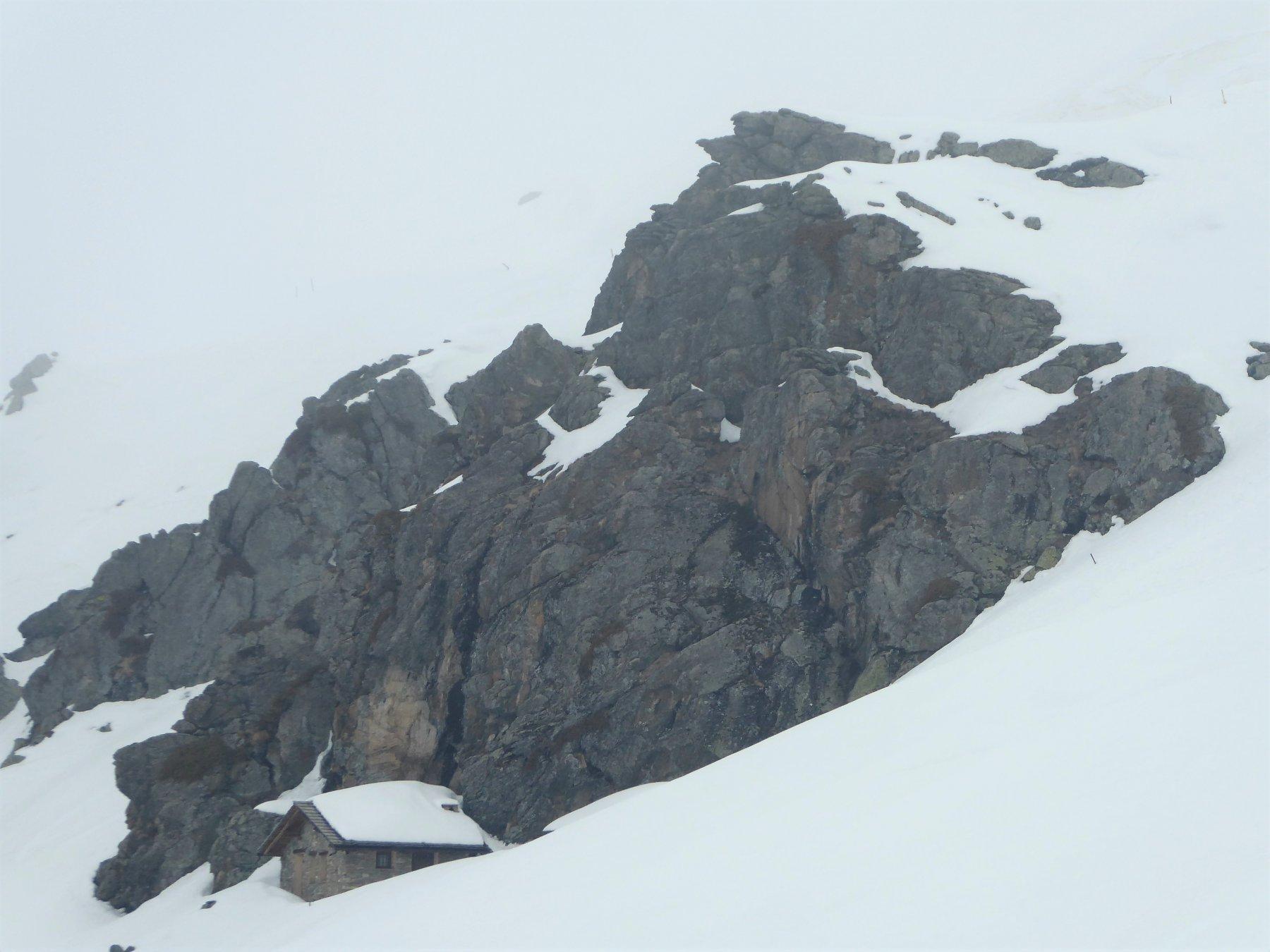 caratteristica baita a 2250 metri