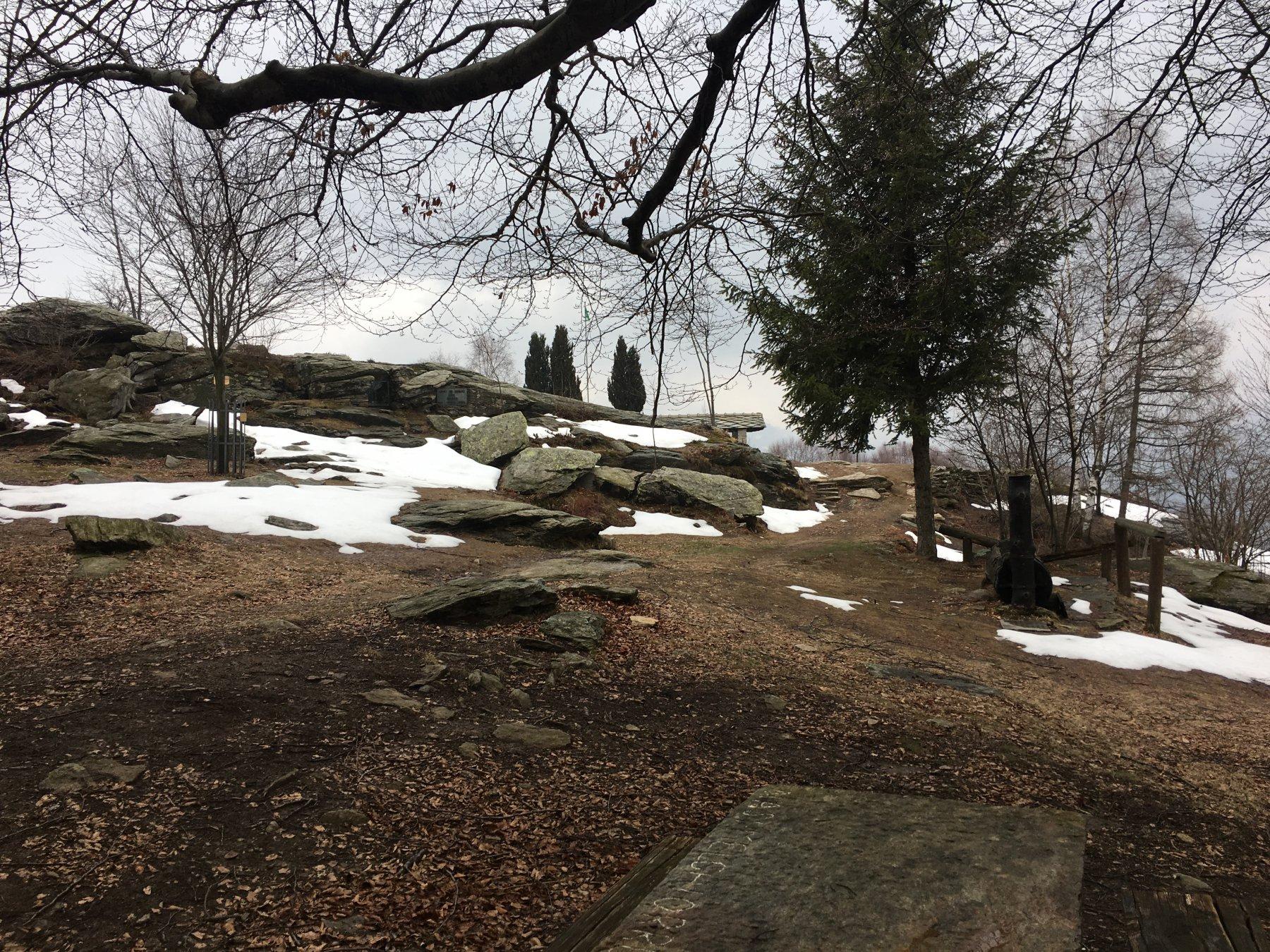 Area picnic al bivacco Mulatero
