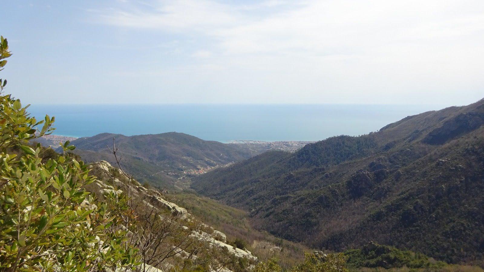 Panorama da metà via