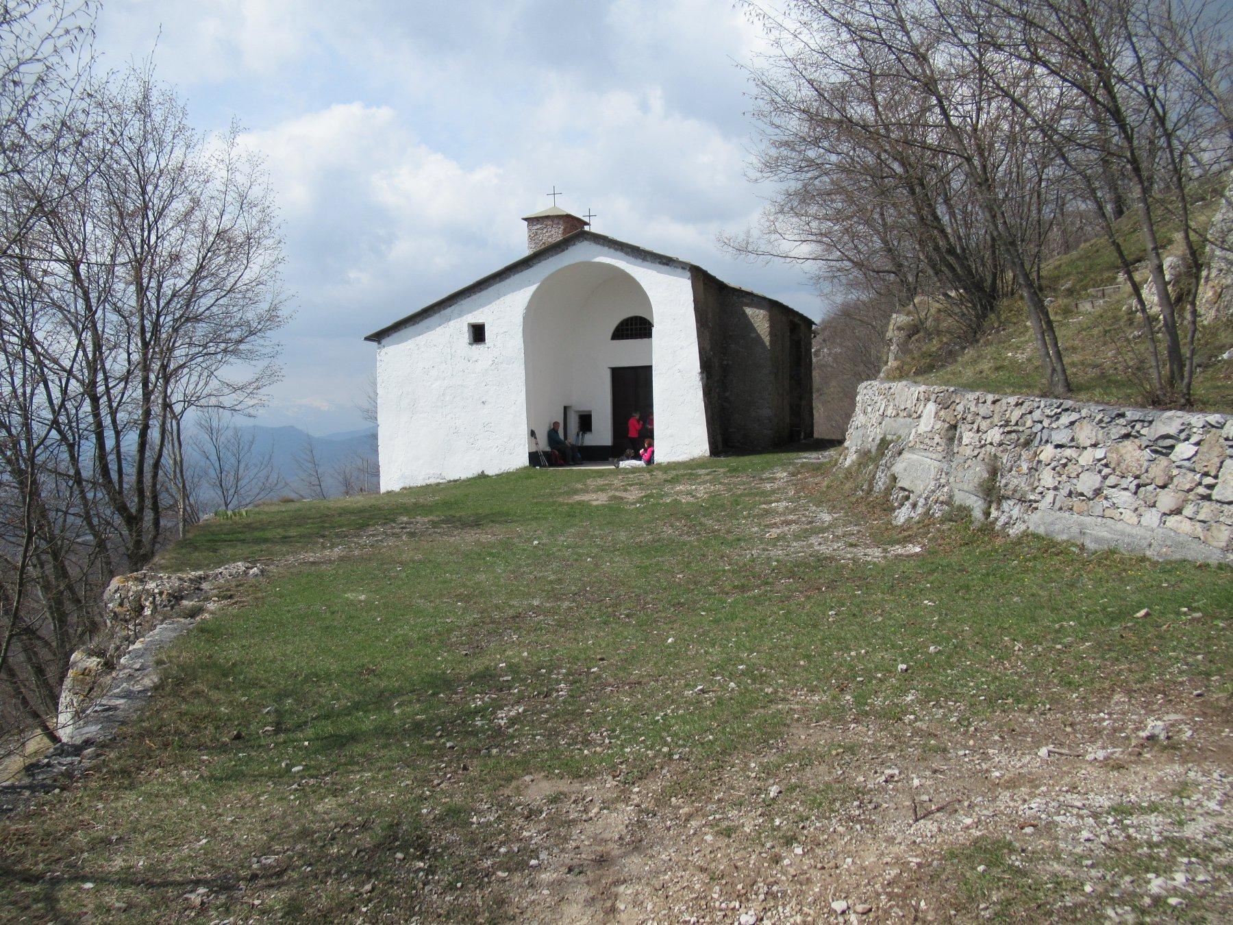 Peso Grande (Monte) o Castell'Ermo da Conscente, anello Sentiero dei Giganti e Monte Nero 2018-04-08