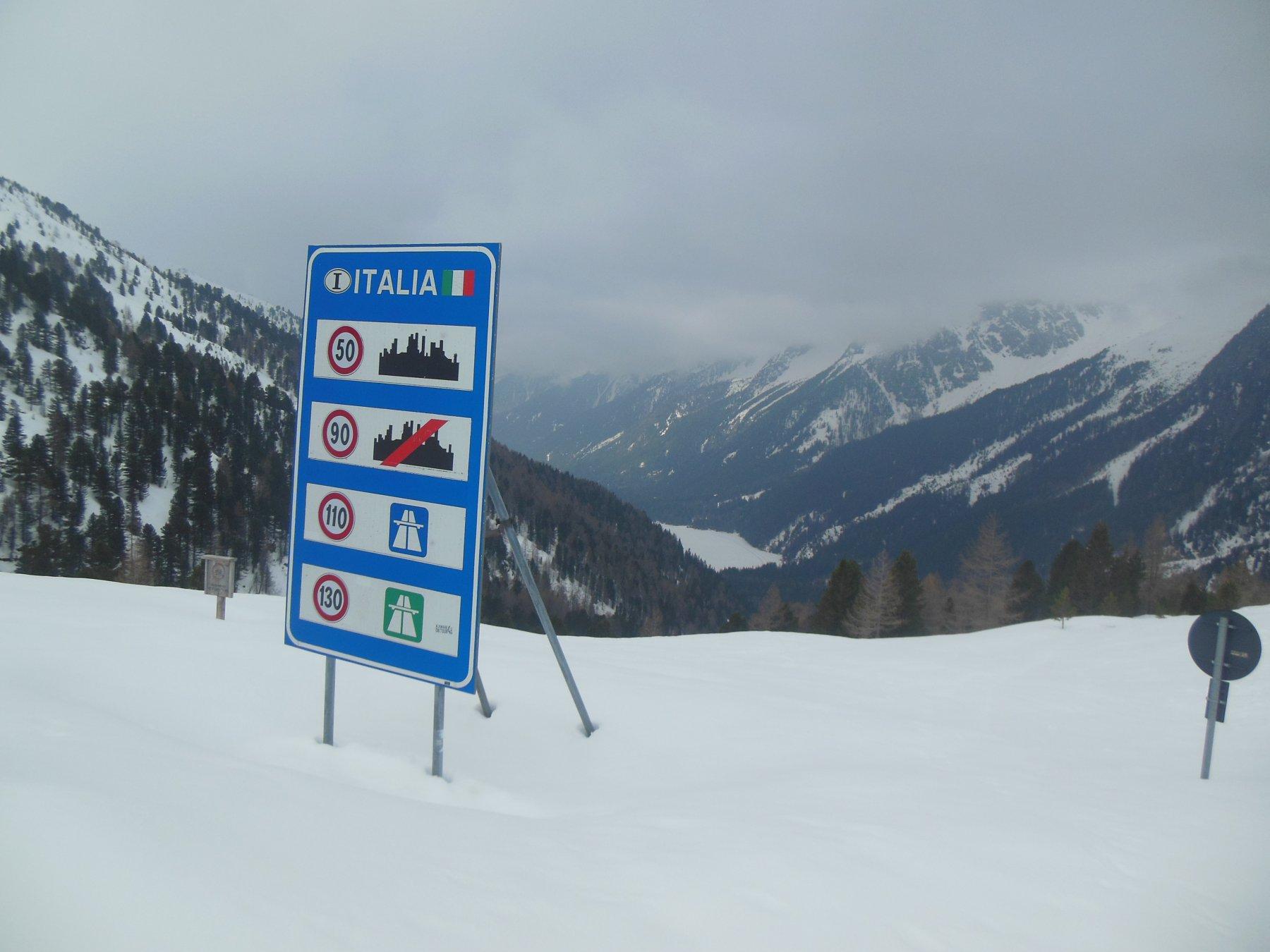 Il confine Italia/Austria