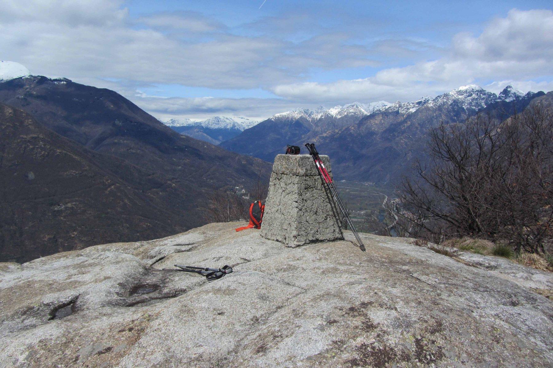 Cima Mot'Orfano 794 m.