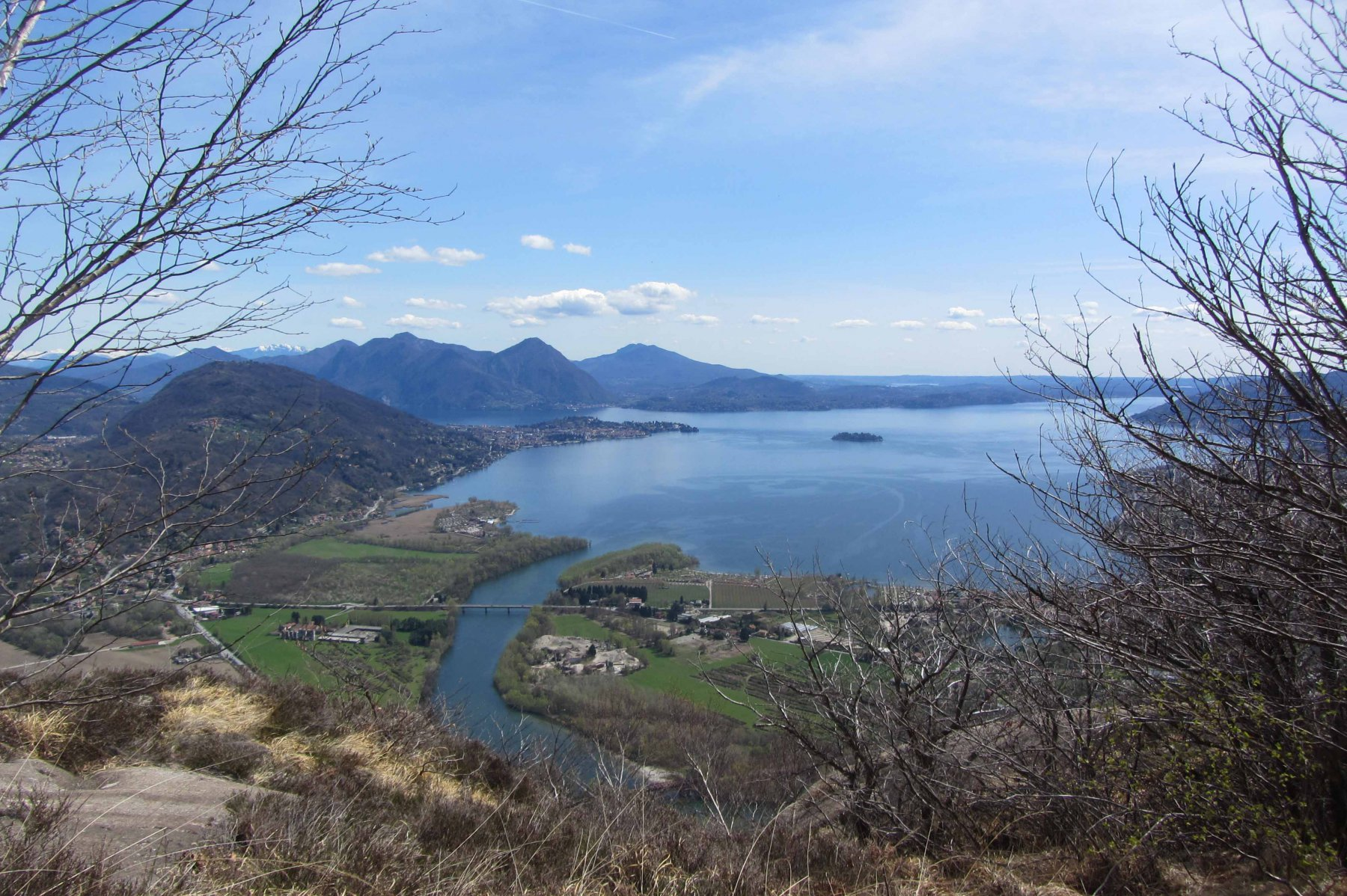 Lago Maggiore e fiume Toce