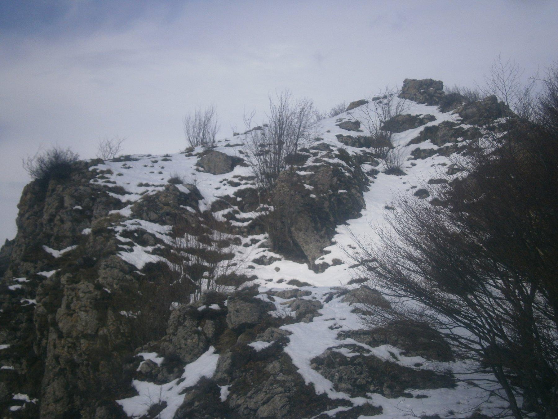 La cima a pochi metri