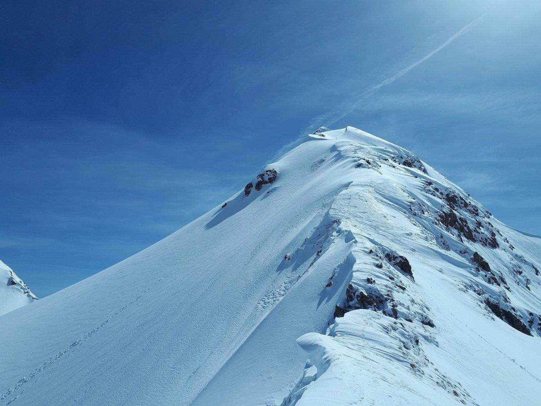 cresta Ovest del Monte Valegino