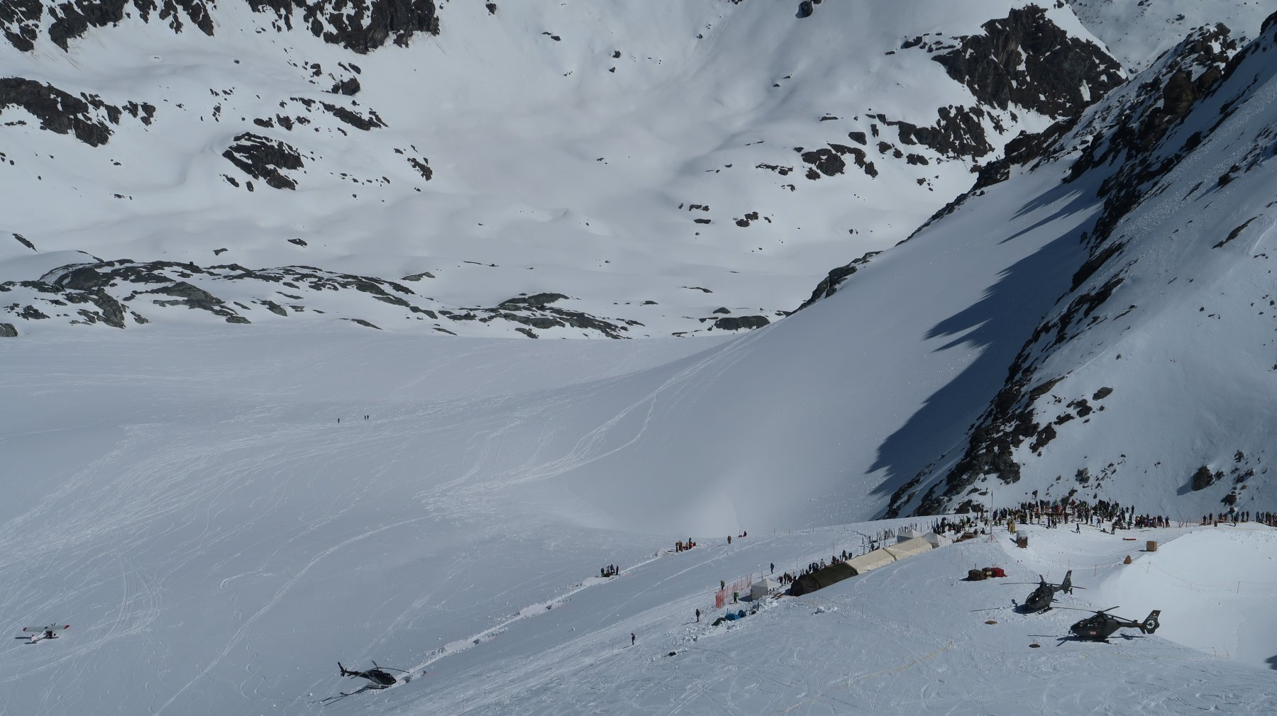 Rosablanche dal Col de Gentianes 2018-04-18