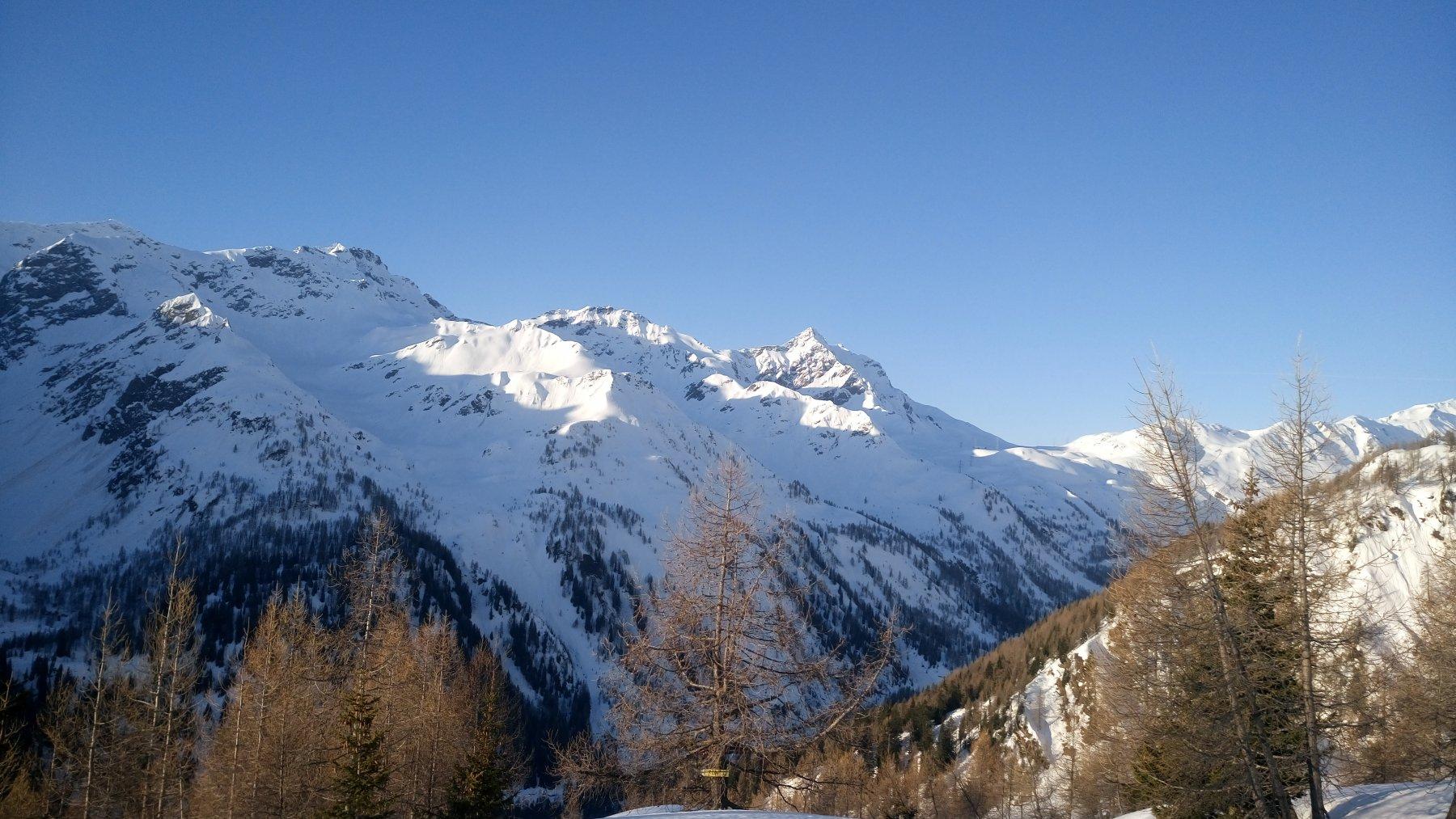 Val bedretto versante Gradinaggia