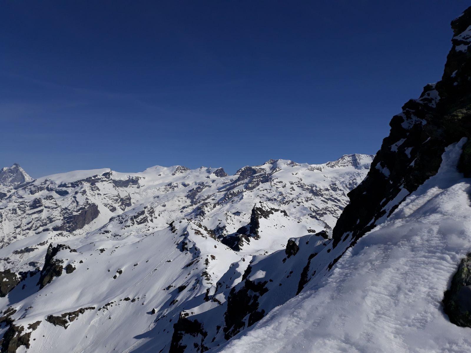 Panorama dal deposito sci