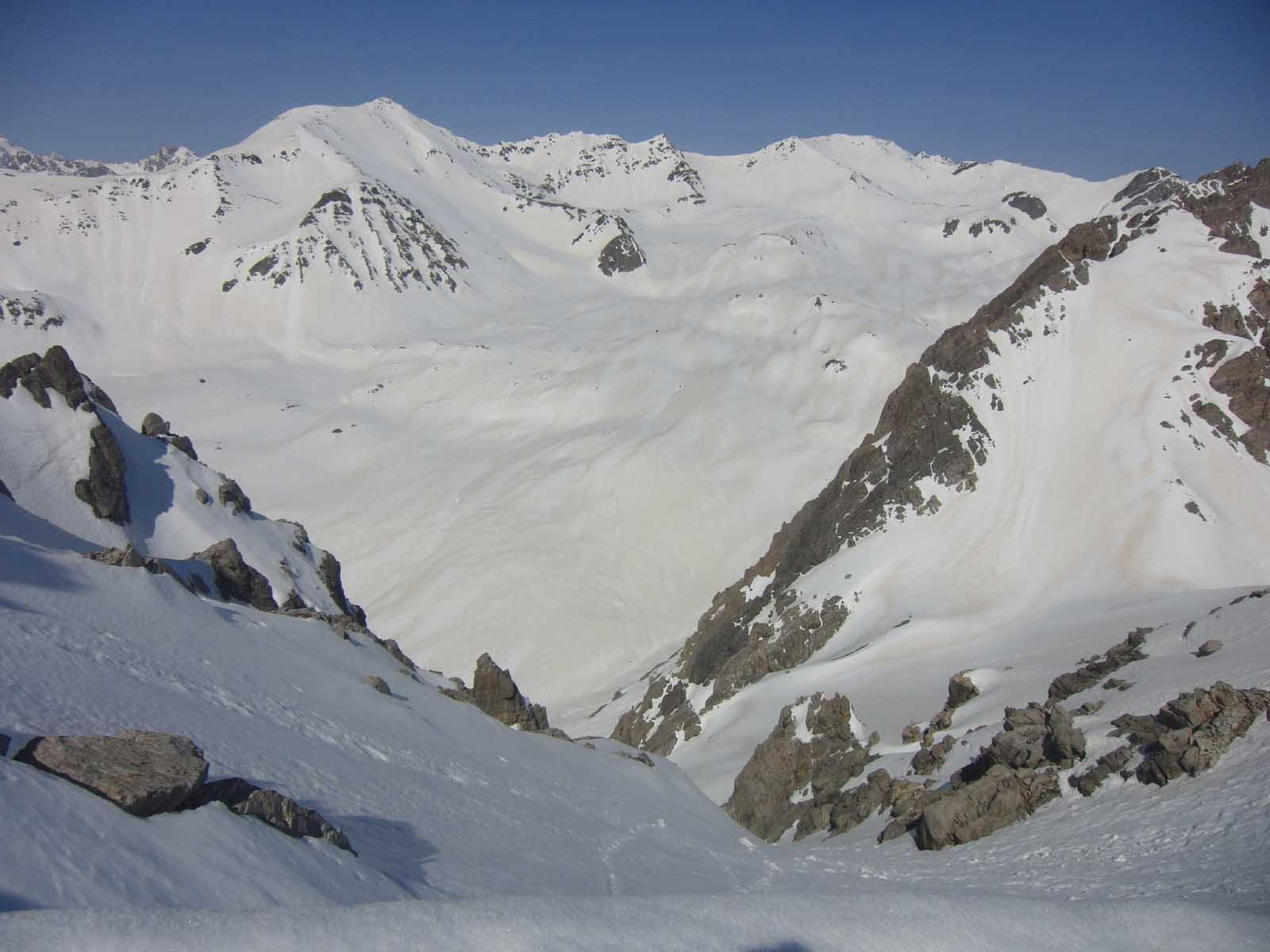 Verso il Vallon e Pic Lac Blanc