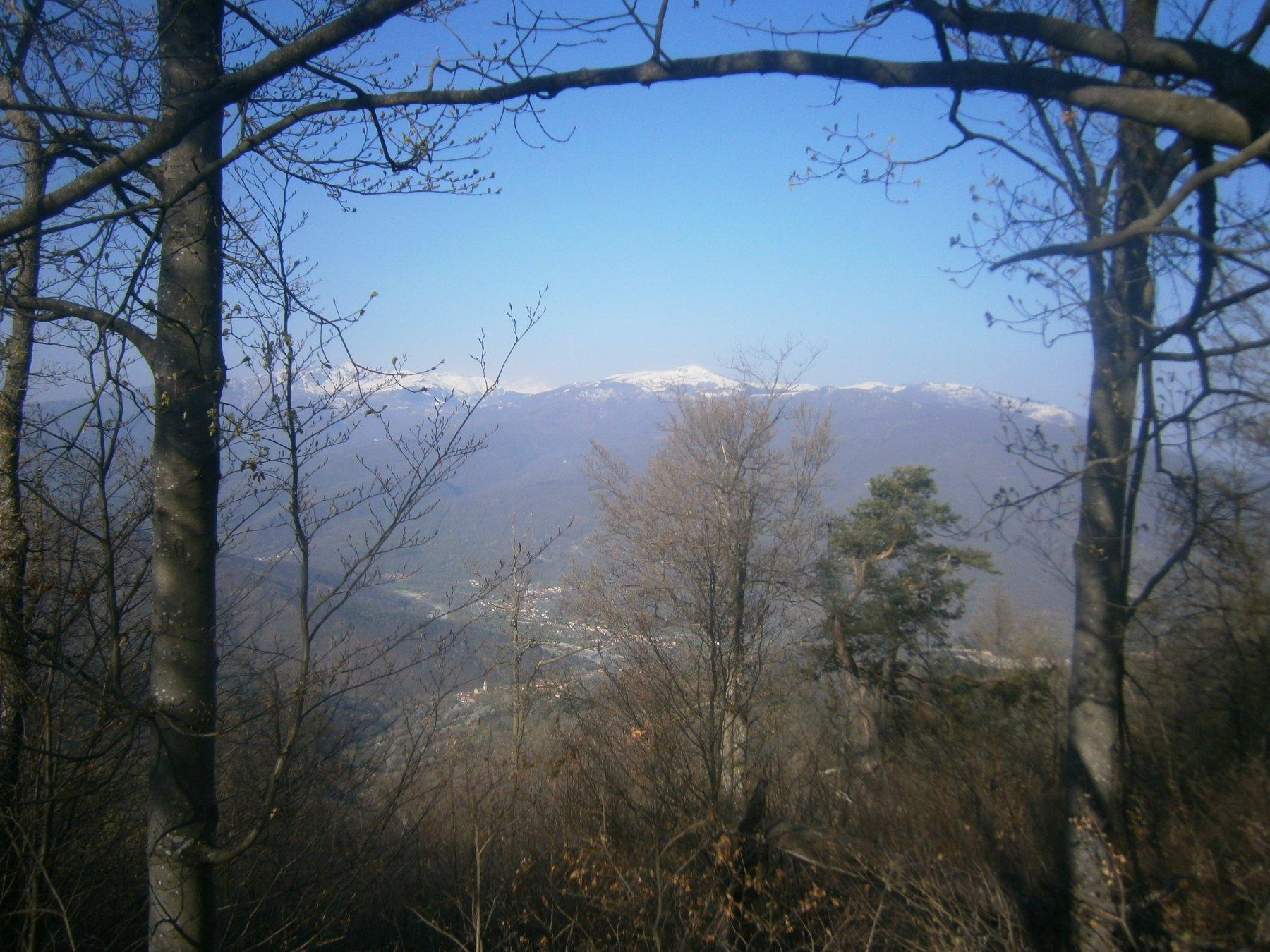 panorama dal m.Sotta