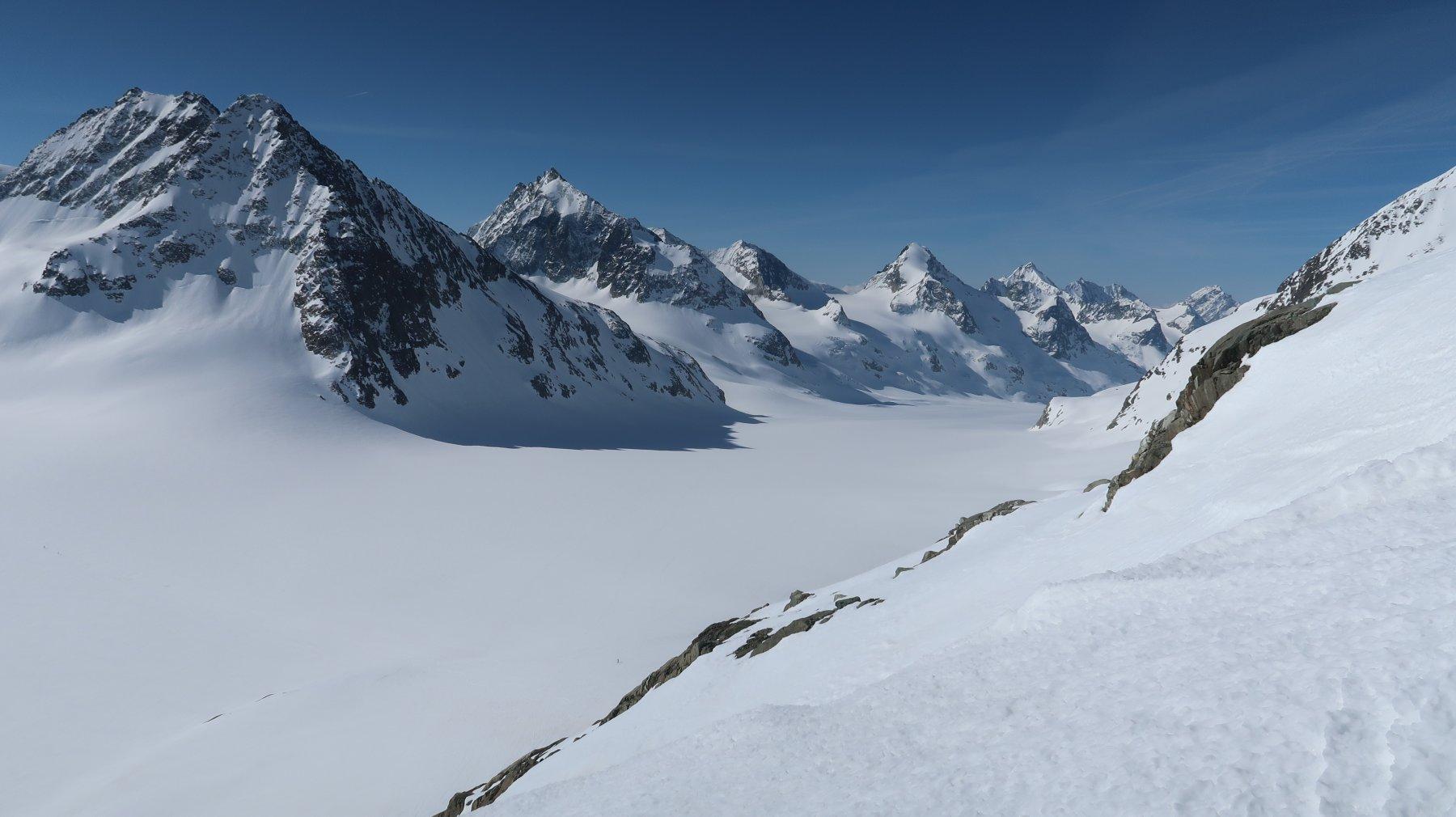 l'immenso glacier d'Otemma