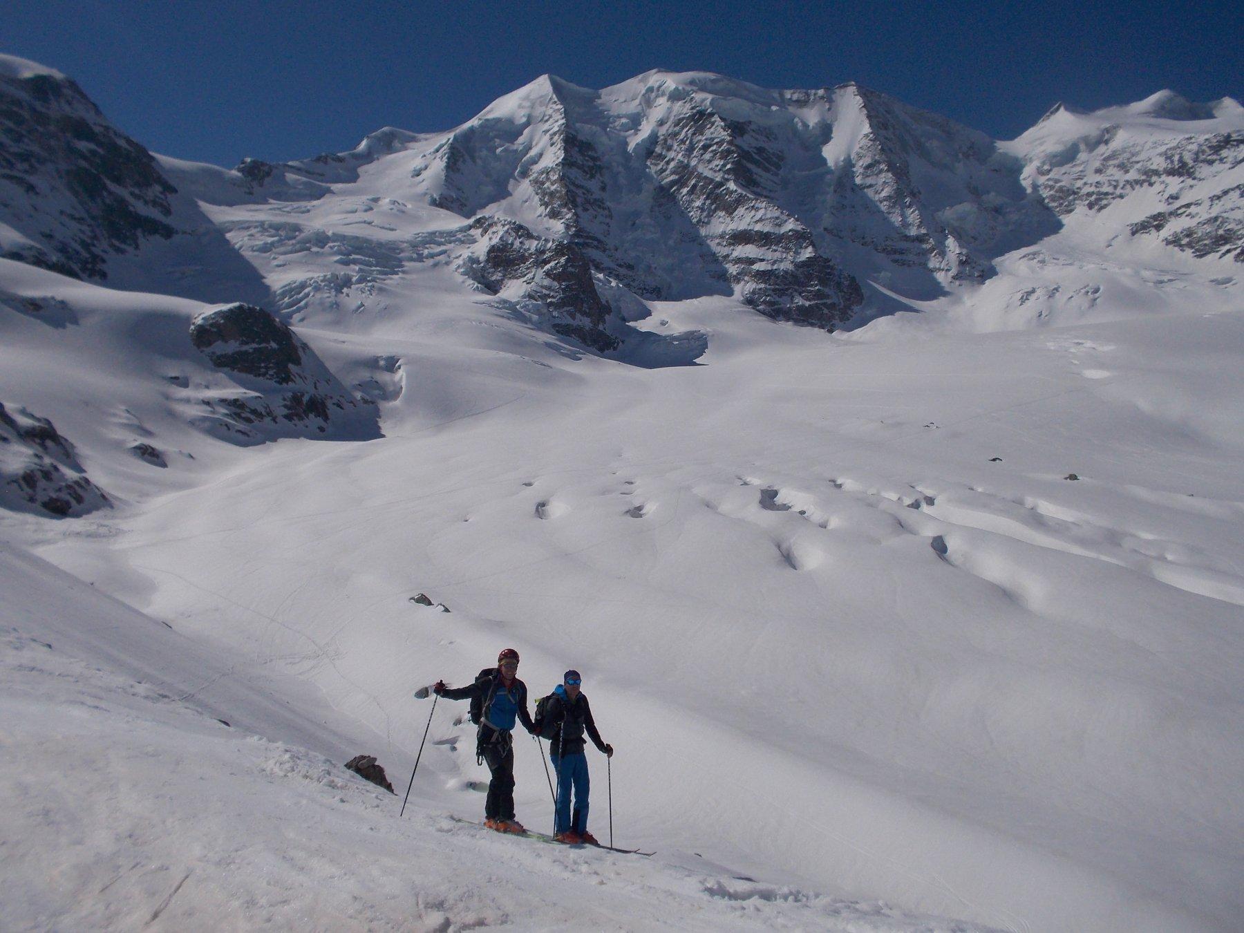 Trovat (Piz) e Sass Queder per la Val d'Arlas 2018-04-22