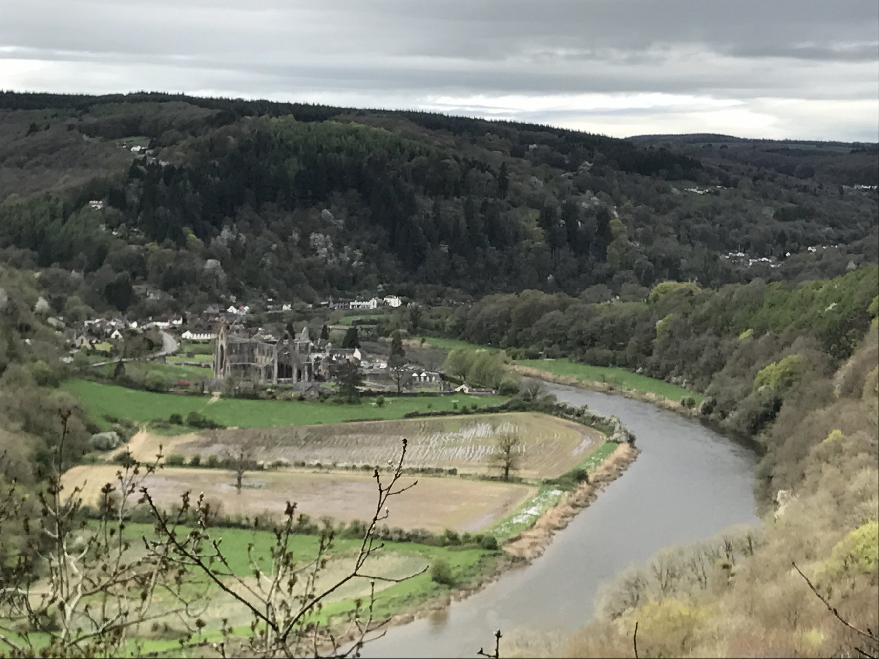 Wye Valley Shorn Cliff - Great Central Cave Area 2018-04-22