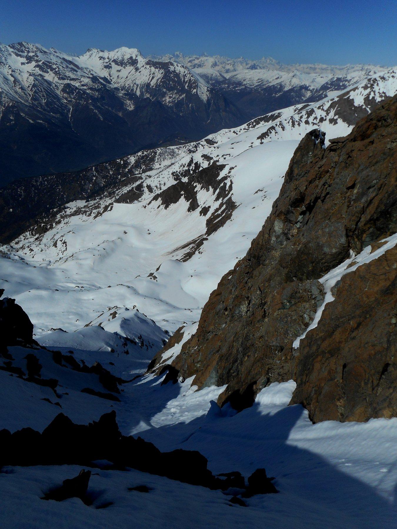 canale finale visto dall'alto