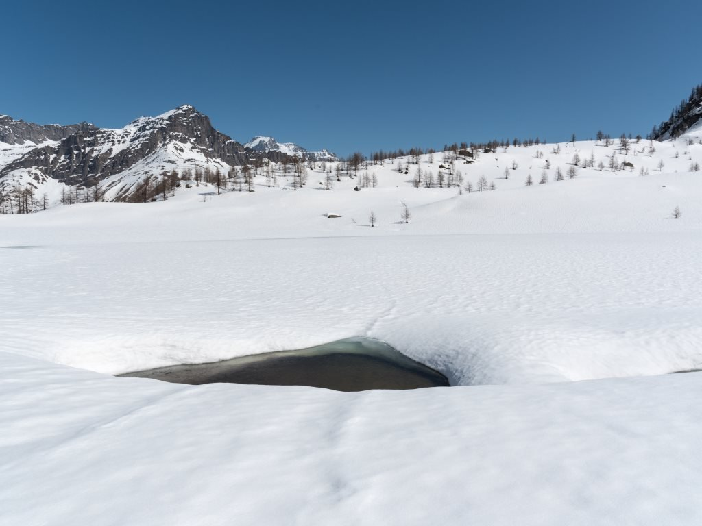 Il lago Dres...