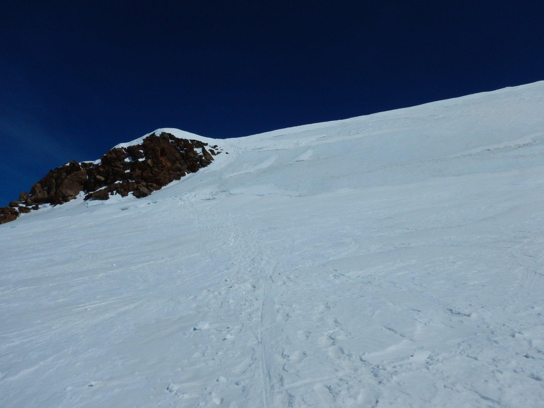deposito sci e paretina ghiacciata