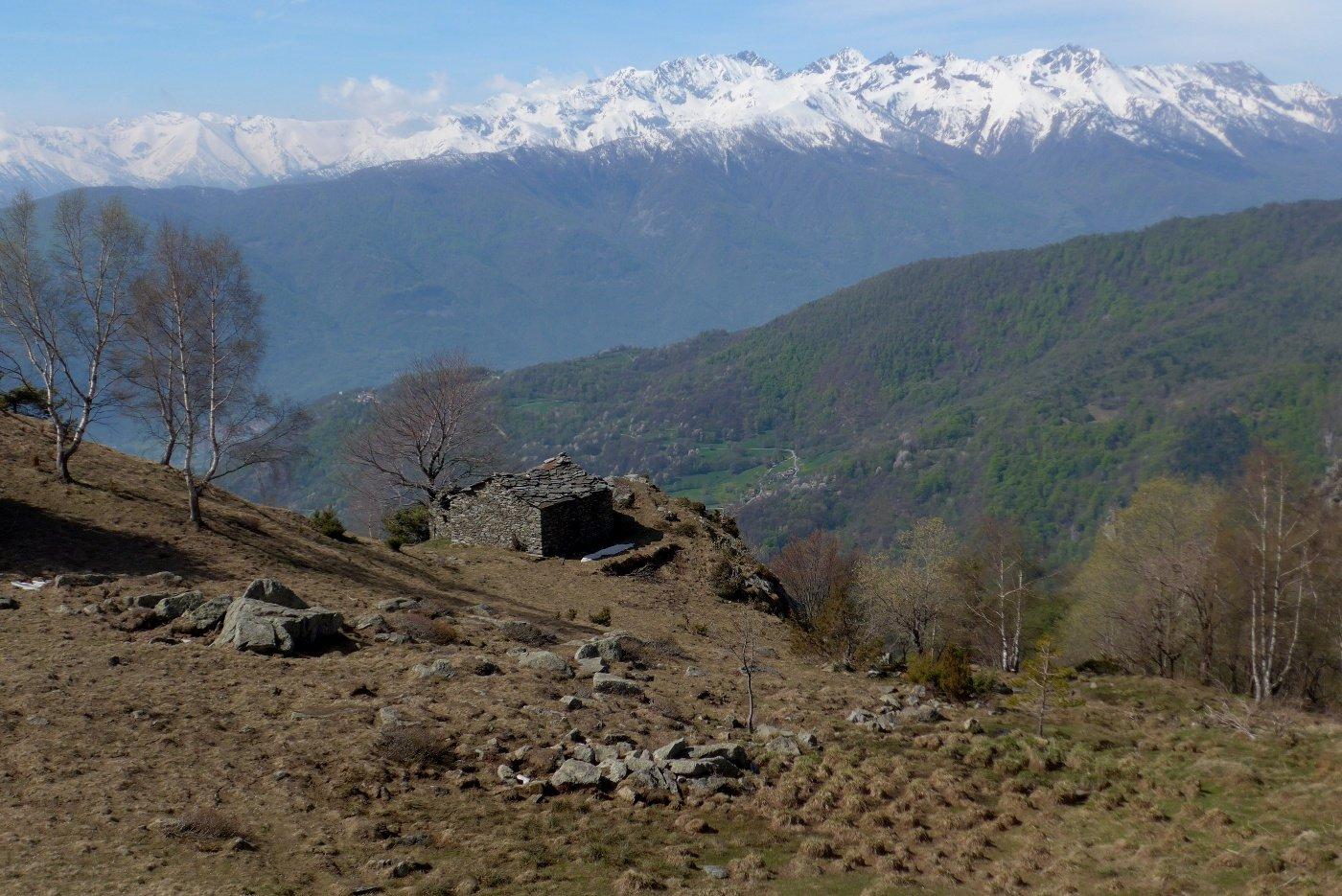 Panorama su Orsiera-Rocciavrè