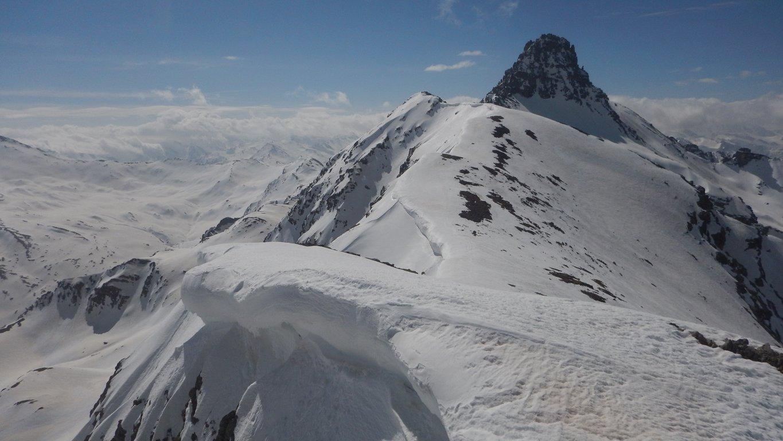 Pic de Rochebrune dalla cima