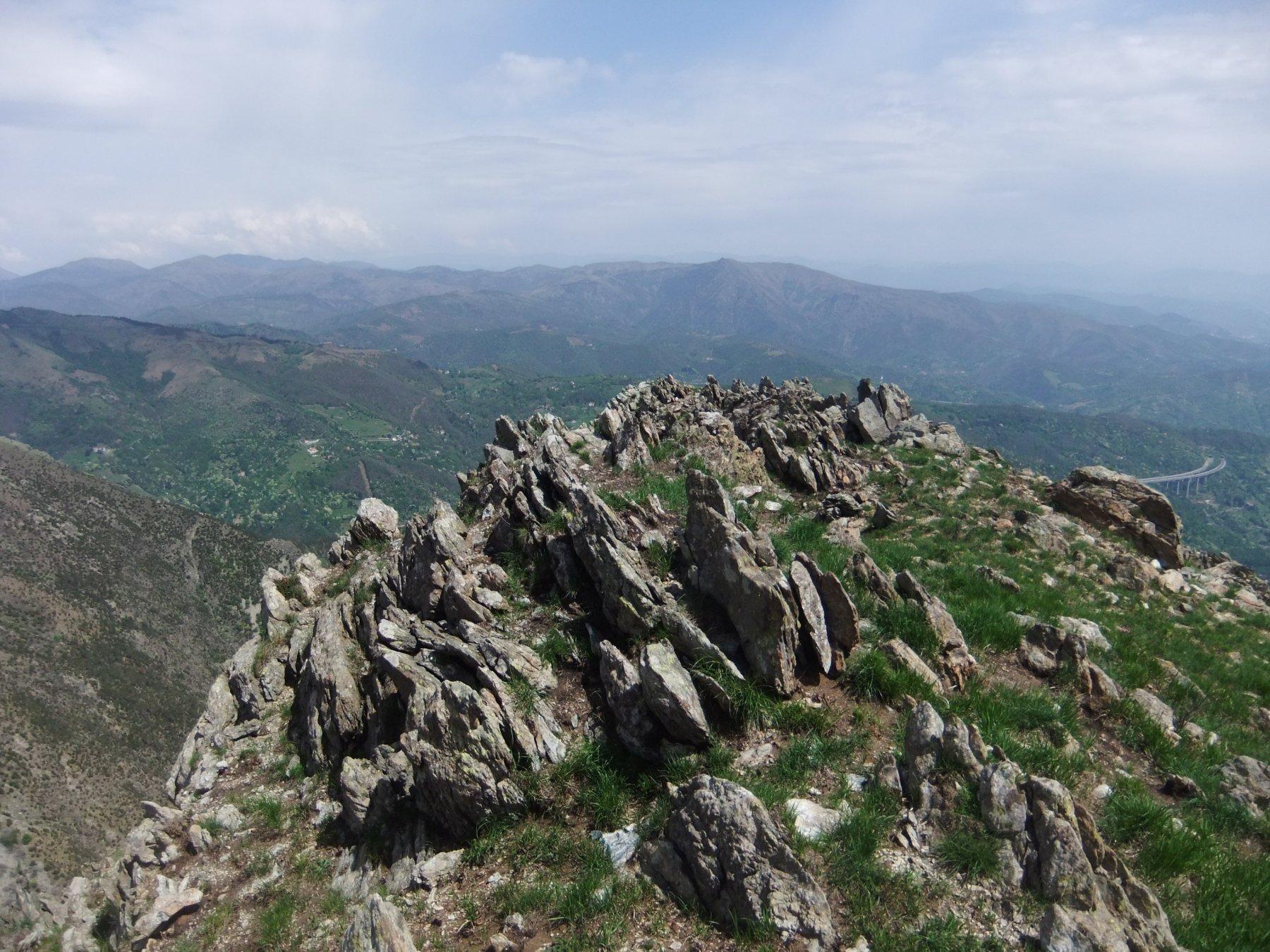 Il roccioso Bric Malanotte