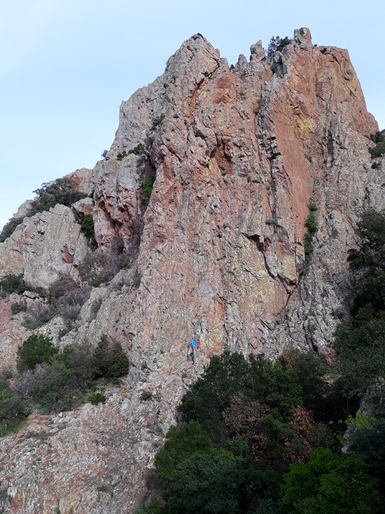 Sentiero per la cappella di Saint Honorat