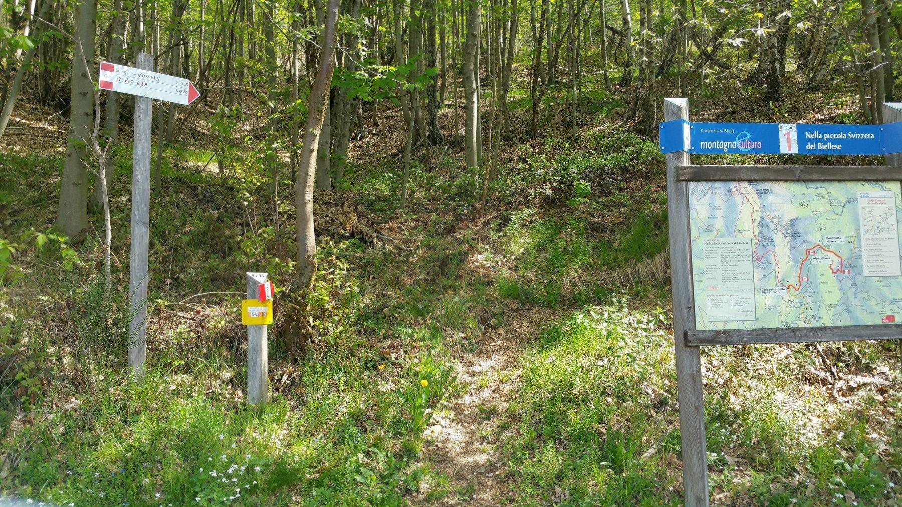 Attacco del sentiero G4
