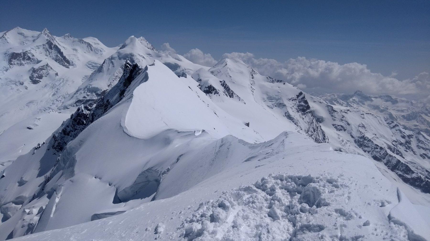 molta neve anche in cima