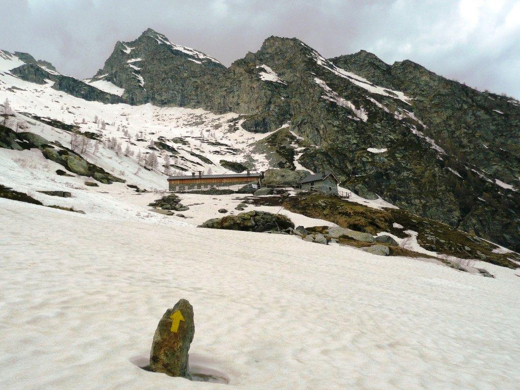Arrivo all' Alpe Bonze e dintorni.