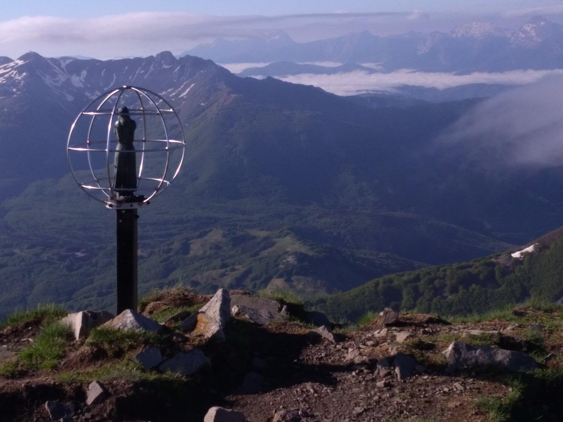 In vetta all Alpe