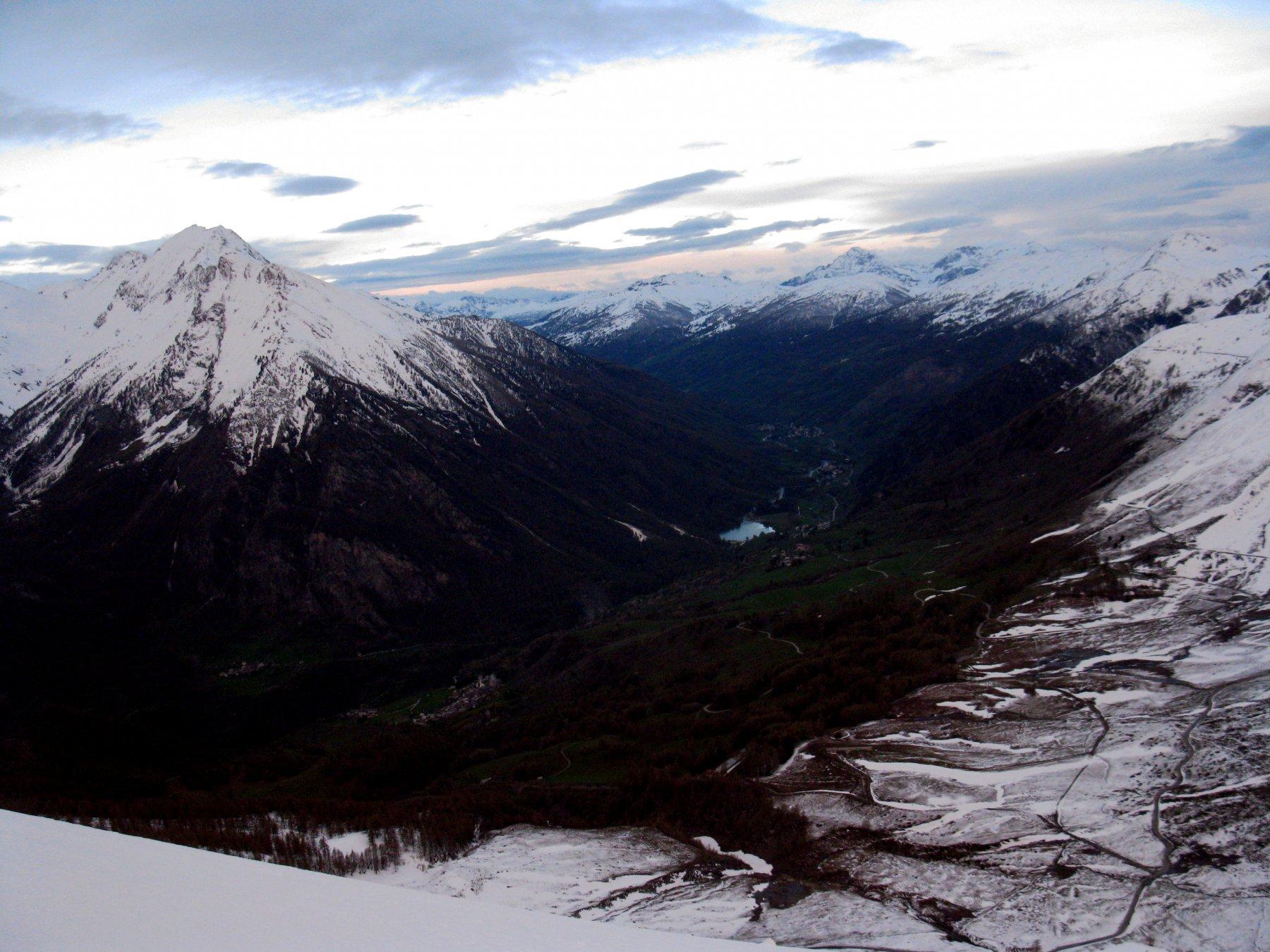 Alta Val Chisone al mattino