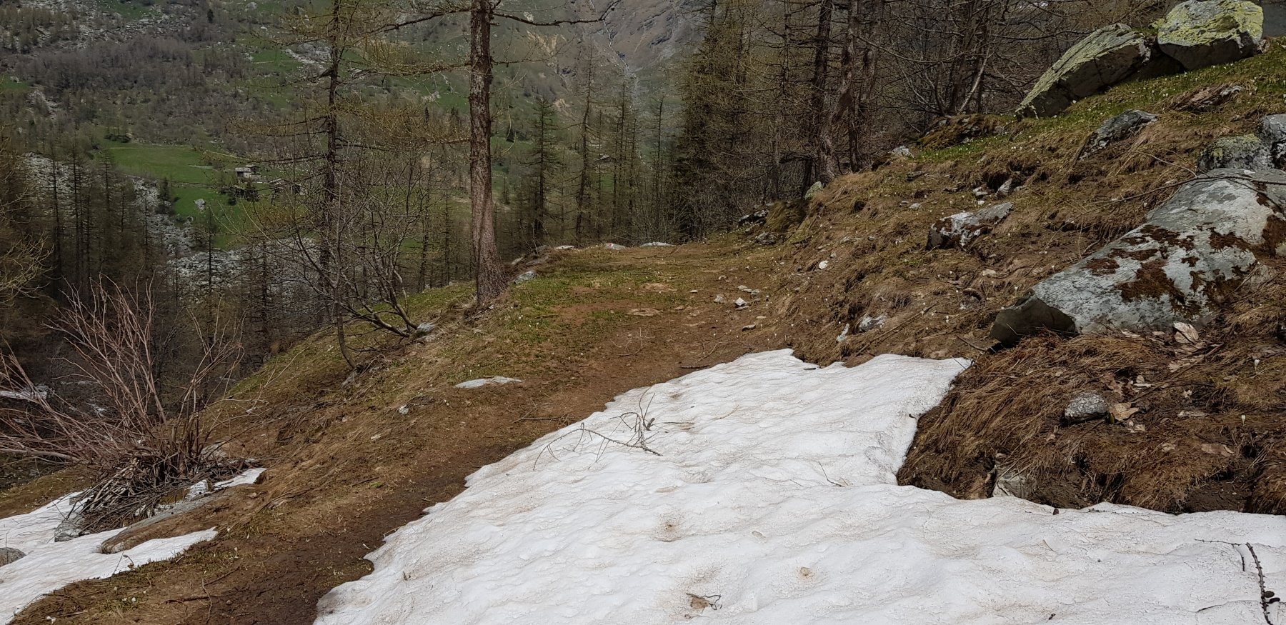 Qui finisce la neve
