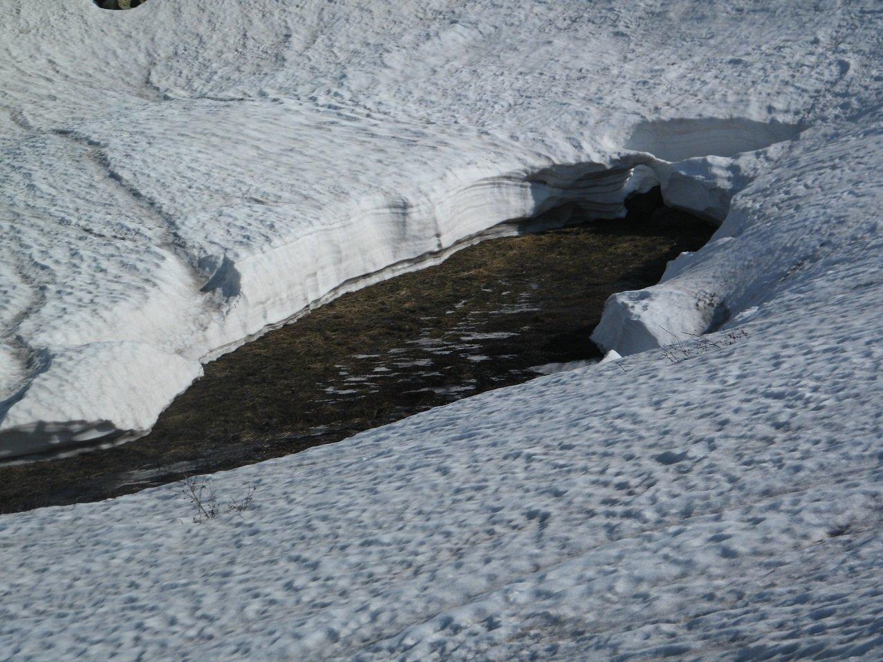 Spessore della neve a quota 2000.