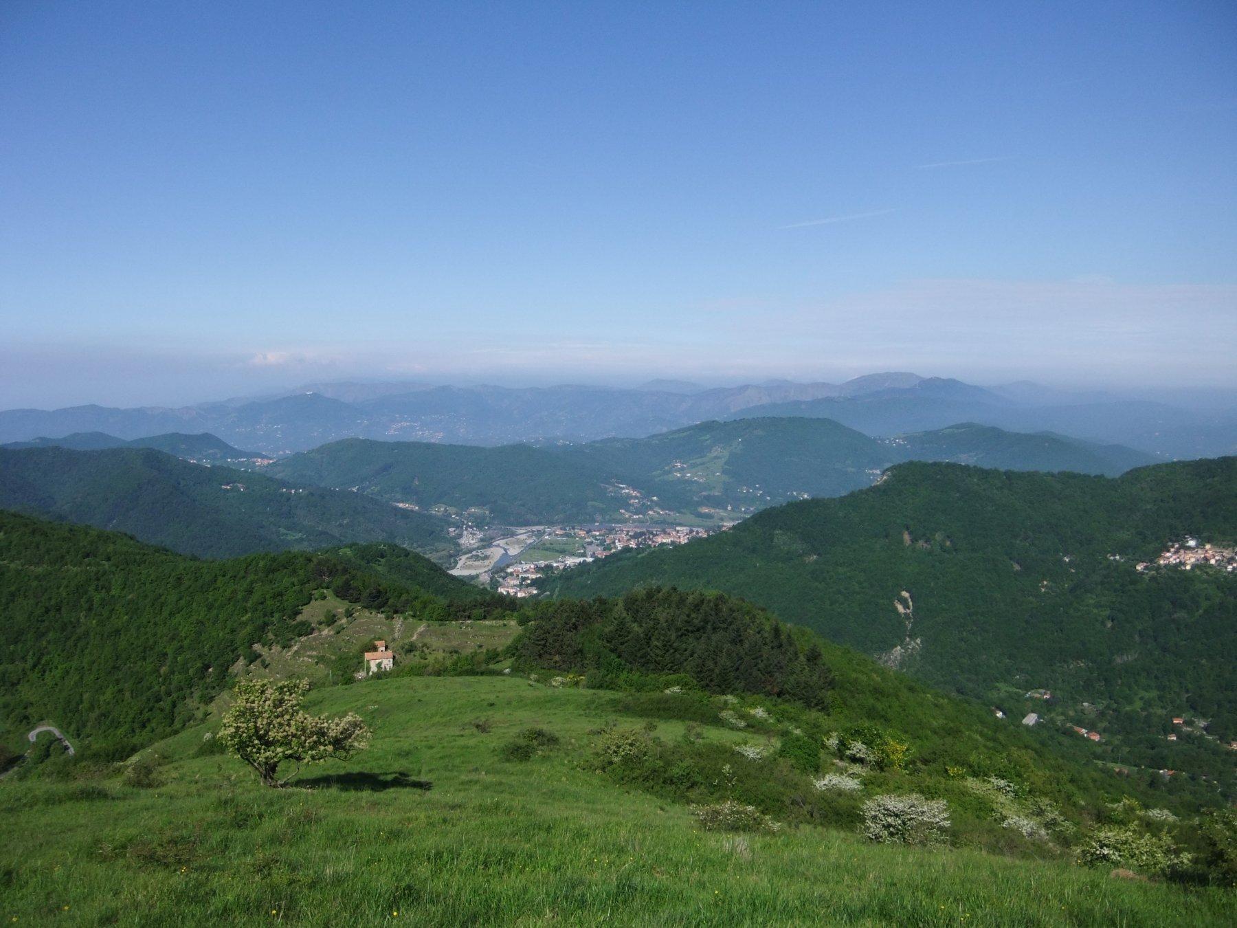 Dalla cima del Monte Banca