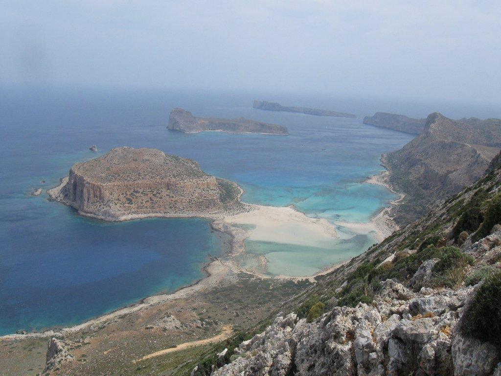 Balos (spiaggia) da Falassarna, traversata 2018-05-22