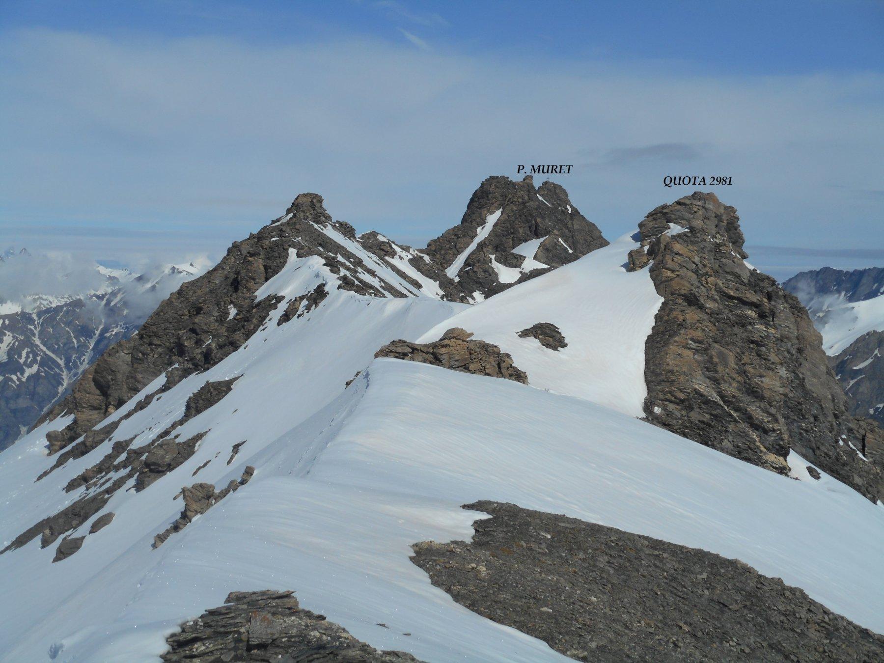 Il Muret e la Cresta di Cuén