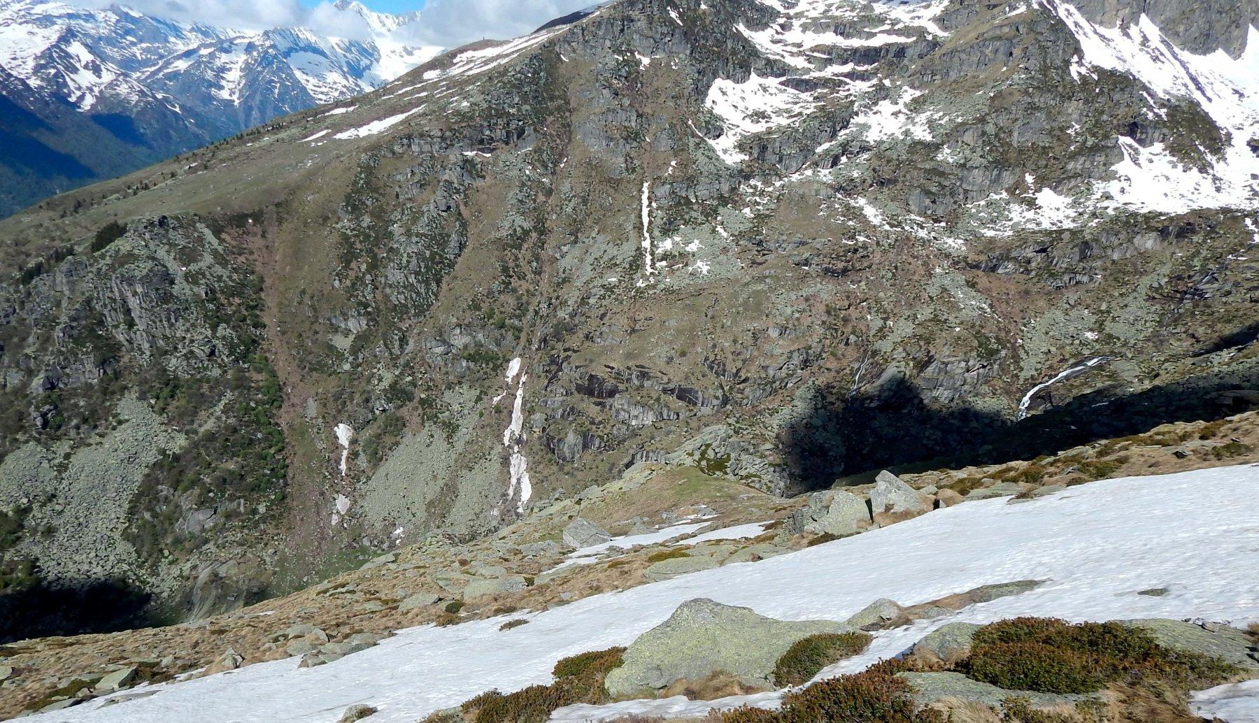 Sopra gli alpeggi Rocciapian