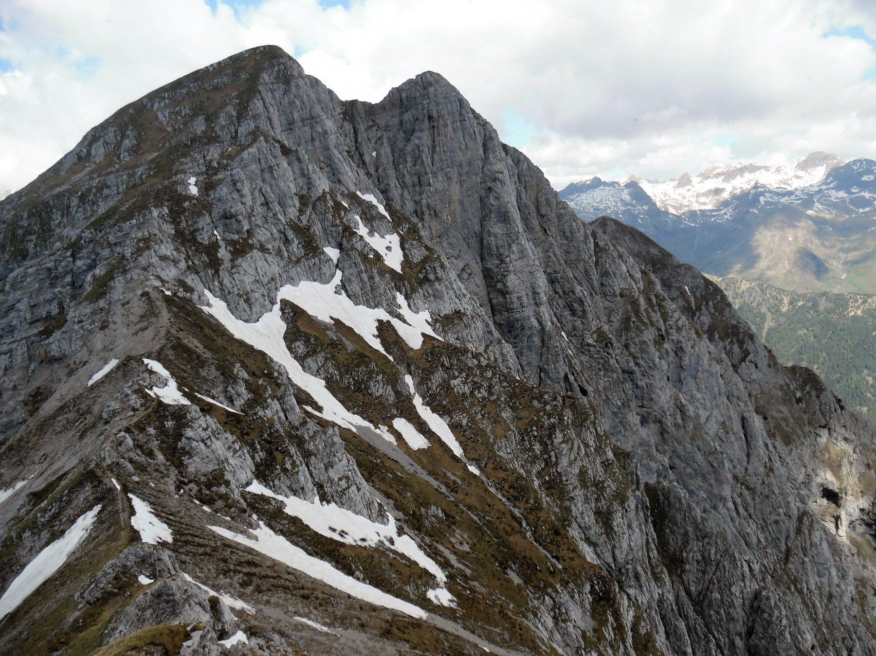 Verso le Cime Est e Ovest del Monte Secco