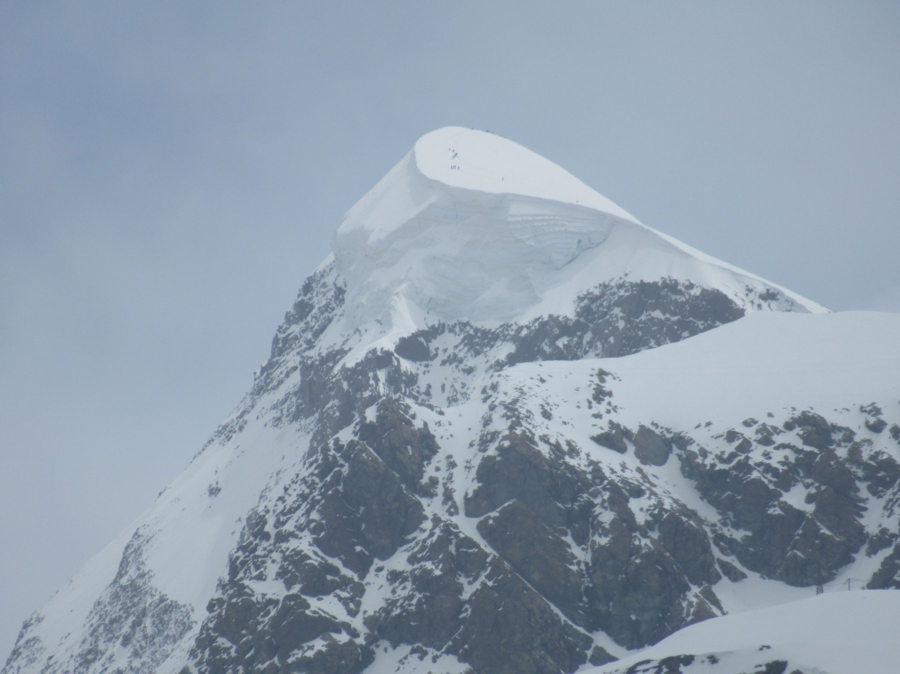 Ressa sul Breithorn Occidentale